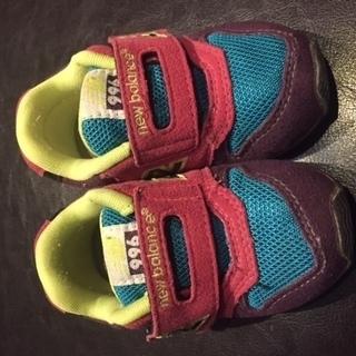 子供靴  NewBalance 12.5cm