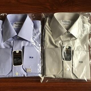 未使用 Yシャツ 札幌三越 オーダーメイド サイズM.Y 綿100%