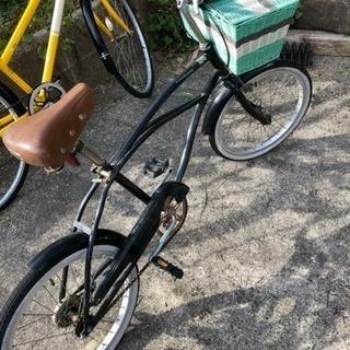 格安!カゴ付き小型自転車