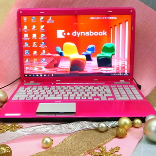 綺麗で可愛い!キャンディピンクのパソコン