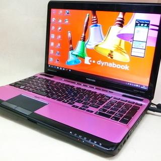 綺麗で可愛い!ピンク/ブラックのパソコン