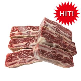 在庫限定 牛骨付き カルビ チム用 1kg 値下げしており…