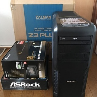 ★中古自作PC/i7-3770k Z68 mem8GB seaso...