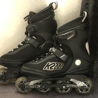 K2インラインスケート 27cmブラック