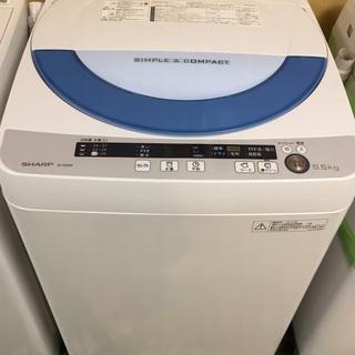 【送料無料・設置無料サービス有り】洗濯機 2015年製 SHARP...