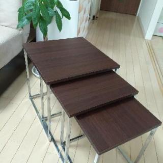 【値下げ!】お洒落な三段テーブル☆