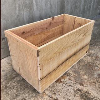りんご箱 A (おおさか 河内材)