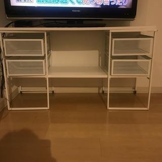 IKEA スチール シェルフ テレビ台