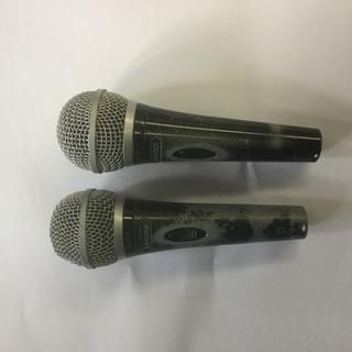 プロ用ボーカルマイクシュアーSM58ぼろぼろ2本