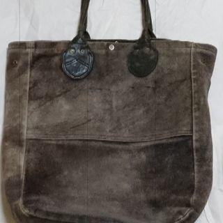 クシタニ製 革トートバッグ 紺色