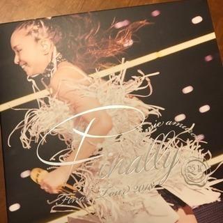 安室奈美恵さん Finally 京セラドーム DVD 初回限定盤