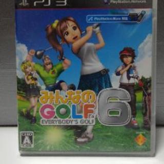 PS3 みんなのGOLF 6