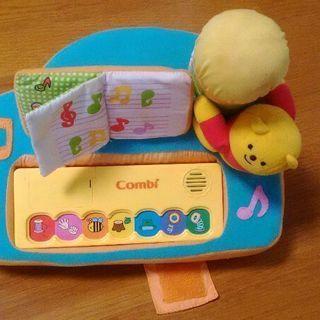Combi ピアノ型 音のでるおもちゃ