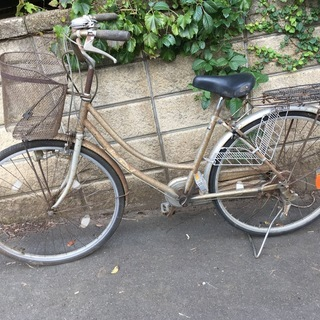 自転車 銀 無料 ジャンク 何処かへ持って行くと、500円貰えるそ...