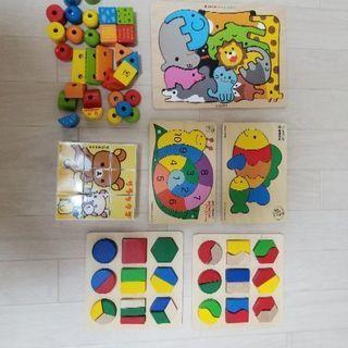子供 木製 おもちゃ パズル
