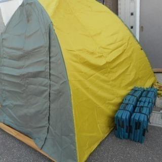 DUNLOP DULCEPACT 4~5人用 オートキャンプテント...