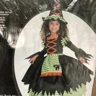 ハロウィン コスチューム 3.4歳 魔女 未使用
