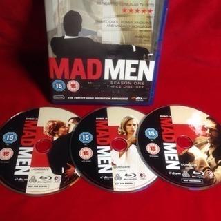 Blu-ray 3枚組MADMEN SEASON ONE 英語版