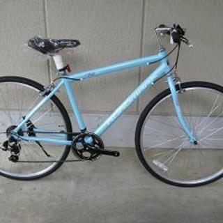 〔新品大特価〕アルミフレームクロスバイク(700-32C・シマノ...