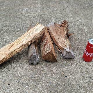 【在庫少なめ】広葉樹ミックス薪!ケヤキ中心。丸2年乾燥(含…