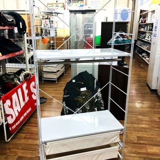 【家具】無印良品ユニットシェルフ!店頭にて販売中!!