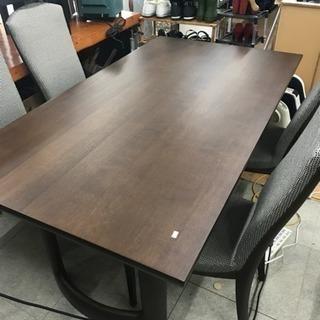 カリモク ダイニングテーブルセット 椅子4脚セット 美中古品 リサ...