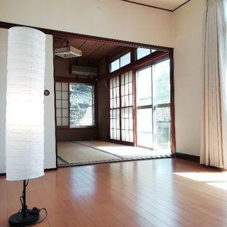 【麗澤大学圏内・ペット可】公園近くお庭のある角地戸建【家具付き】