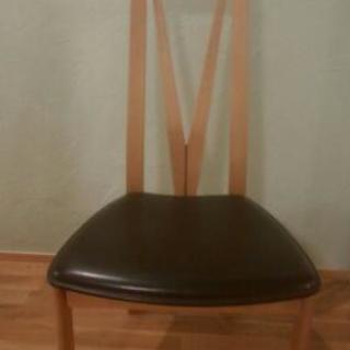 椅子2脚あげます。