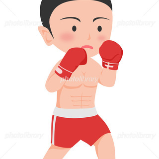 ボクシングしましょう!!