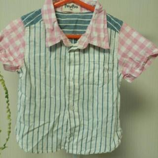 クレイジーパターンシャツ 80センチ