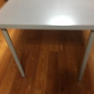 IKEA テーブル 150×75 高さ70 カラー グレー