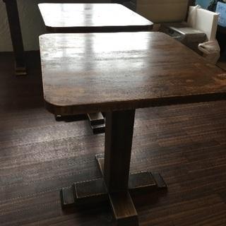 9月28日までに延長!引き取り希望 木のテーブル2つ