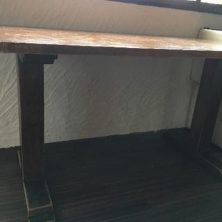 9月28日までに延長!引き取り希望 木のダイニングテーブル