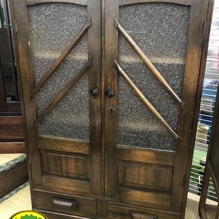 レトロ品 水屋箪笥 古民家家具  アンティーク 食器棚
