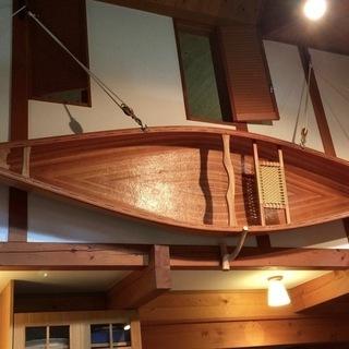 木製カナディアンカヌーTUQUI