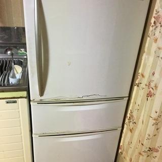 取引中 ジャンク 250リットル位  3ドア冷蔵庫