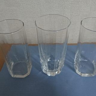 グラス3個セット 無料です。