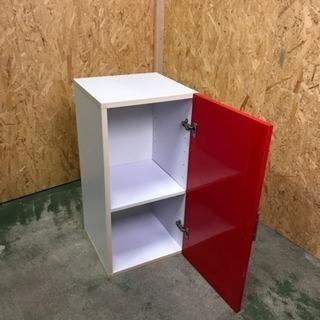 扉付きカラーボックス、収納ボックス