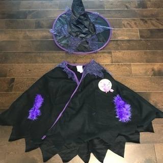 ハロウィン衣装 キッズ 魔女 S(95-110)