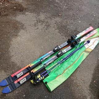 スキー板 ストック