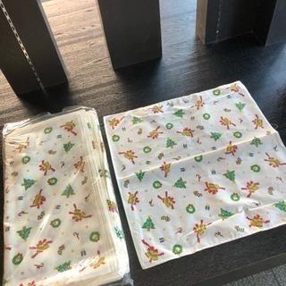 クリスマス柄ハンカチ - 生活雑貨