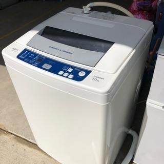 12年 AQUA 7.0キロ 洗濯機