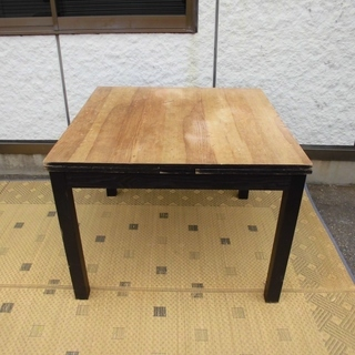 IKEA 伸長式テーブル ダイニングテーブル BJURSTAシリー...