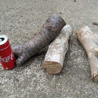 広葉樹ミックス端材薪!1kg23円。1年8ヶ月乾燥(含水率17%前...