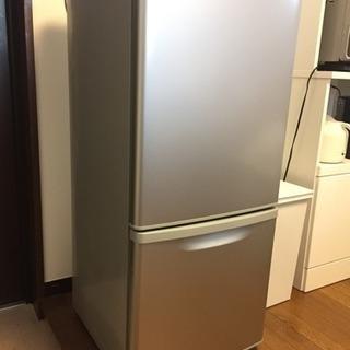 [お取引中] パナソニック冷蔵庫 シルバー 2ドア 138L