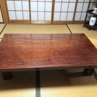 重厚感のある和風ローセンターテーブル