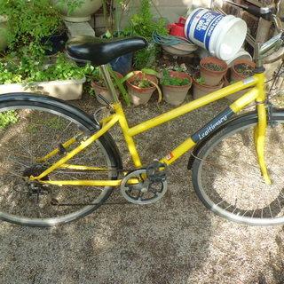 24インチ6段変速自転車、ジャンク品
