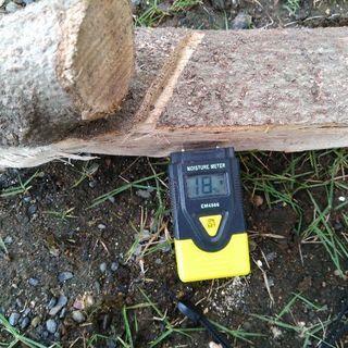 広葉樹カシの火持ち良好コロコロ薪!1年 10ヶ月乾燥(含水率17%前後)。0.1立米(約45kg)価格。1kg約30円。茨城県潮来市。1kg約30円。 − 茨城県