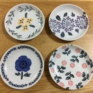 【新品未使用】maebataケーキ皿4枚セット(デザートプレート)
