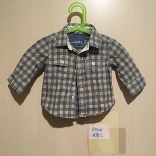 80㎝ 男の子 シャツ baby GAP